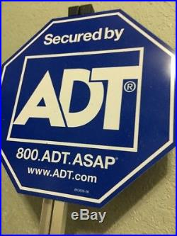 10 New Adt Security Alarm Yard Signs