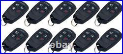 10 Pcs Honeywell Ademco 5834-4 Four-Button Wireless Key Remotes, GUARANTEED