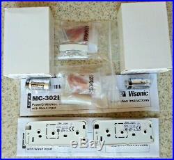 2 ADT Visonic MC 302E PG2 Wireless Magnetic Door Window Contact (868-0)1355/1515