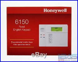 2 Honeywell Ademco ADT 6150 Fixed English Alarm Keypad Vista 10P 15P 20P New