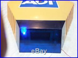 2 x NEW ADT Solar LED Flashing Alarm Bell Box Decoy Dummy Kit. Bracket + Battery