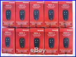 20 Ademco ADT Honeywell 5834-4 Home Alarm Security System Remote Control Key New