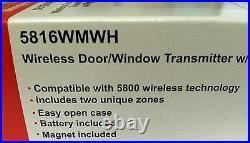 25 Honeywell 5816WMWH Wireless Door/Window Contacts