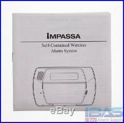 3 ADT DSC SCW9057G-433 Impassa Wireless Alarm 9057G From 457-98HSADT 3G2077R GSM