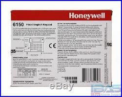 3 Honeywell Ademco ADT 6150 Fixed English Alarm Keypad Vista 10P 15P 20P New