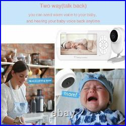 4.3 inch Baby Monitor Two way Audio Video Nanny Home Security Camera Babyphone w