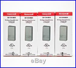 4 Ademco ADT Honeywell 5816 Brown Outdoor Open Door Magnetic Sensor Window Alarm