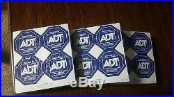 400 Adt Alarm Stickers