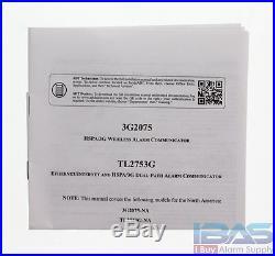 5 ADT DSC SCW9057G-433 Impassa Wireless Alarm 9057G From 457-98HADT 3G2075 GSM