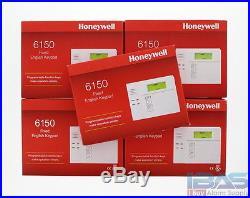 5 Honeywell Ademco ADT 6150 Fixed English Alarm Keypad Vista 10P 15P 20P New