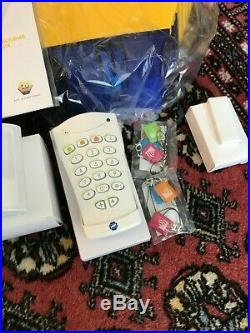 ADT 799 Home Security Alarm with 4 sensors