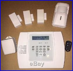 ADT Alarm System Lynx 3000 Programmed With 3 Doors 1 Motion And 1 Remote