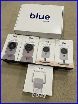 ADT Blue Complete monitored Home Security system withsensors & cameras MSRP $1400