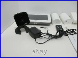 ADT Command 7 Touchscreen Home Security System Bundle Lot ADT7AIO Sensors Cam