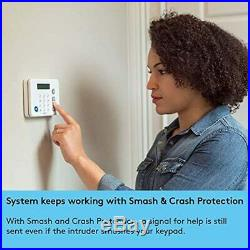 ADT DIY LifeShield 11-Piece Easy, DIY Smart Home Security System Optional 24/7