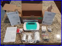 ADT DSC Impassa Wireless Alarm Panel 9057 3G Sim Card Backup Battery Bundle Kit