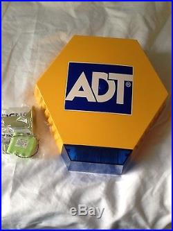 ADT Dummy bell box with solar flashing LED kit includes battery