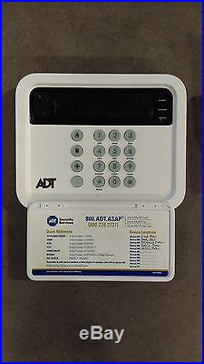 ADT Pulse alarm system base, controller and key fob