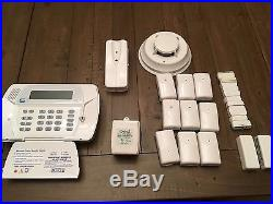 ADT Security Alarm Control Panel With DSC Wireless Sensors