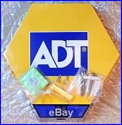Adt Solar Led Flashing Alarm Bell Box Decoy Dummy Kit