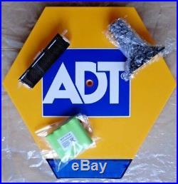 ADT Solar LED Flashing Alarm Bell Box Decoy Dummy Kit + Bracket And Battery DCF2