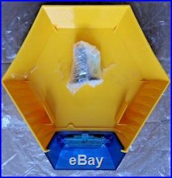 ADT Solar LED Flashing Alarm Bell Box Decoy Dummy Kit + Bracket And Battery DCF4