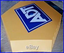 ADT Solar LED Flashing Alarm Bell Box Decoy Dummy Kit +Bracket + Battery Ref 1