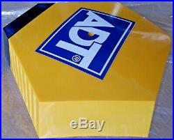 ADT Solar LED Flashing Alarm Bell Box Decoy Dummy Kit +Bracket + Battery Ref 2