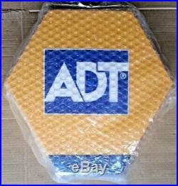 ADT Solar LED Flashing Alarm Bell Box Decoy Dummy Kit +Bracket + Battery Ref SD1