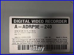 ADT Tyco Fire & Security Digital Video Recorder DVR A ARP9E 240 Home Security