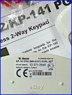 ADT Visonic KP 141 & Tower 32AM PG2 Keypad & Dual Tech PIR (868-0)