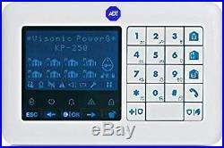 ADT Visonic KP 250 PG2 Wireless Alarm Keypad withProx (868-0037) ID-375-6001