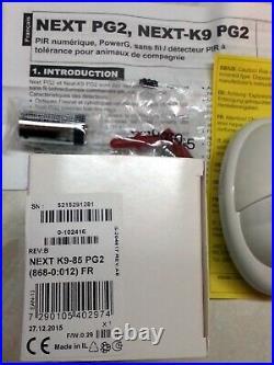 ADT Visonic NEXT K9-85 PG2 Wireless PIR Pet Friendly (868-0012) 4 Pack