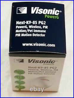 ADT Visonic NEXT K9-85 PG2 Wireless PIR Pet Friendly (868-0012) 8 Pack