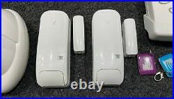 ADT Visonic Pmaster10 Wireless Alarm System + Dummy Bell Box + PIR's + GSM SIM