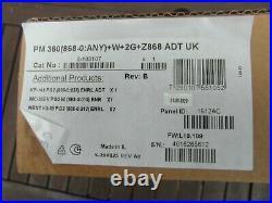 ADT Visonic PowerMaster 360 PM360 (868-0ANY) 2G