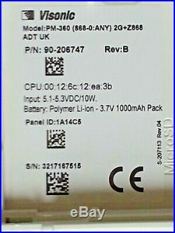 ADT Visonic PowerMaster 360 PM360 (868-0ANY) 2G UK SOLO REF 3217167515