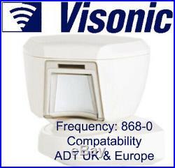 ADT Visonic Tower 20AM Wireless Outdoor Digital Mirror PIR (868-0) ID-130-7283