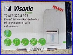 ADT Visonic Tower 32AM PG2 Wireless Dual Technology PIR (868-0) ID150-5871