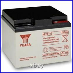 Adt 476630 12v 24ah Alarm Replacement Battery