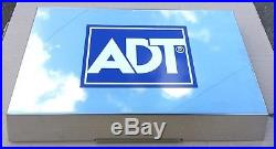 Adt Polished Stainless Steel Live Alarm Siren Bell & Decoy Cover