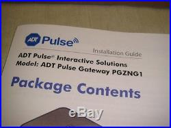 Adt Pulse Home Security Gateway Pgzng1-1adnas -new In Box