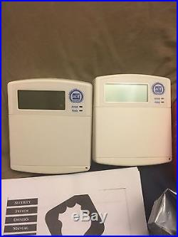 Adt Security System With 2 Wallpads Siren Used