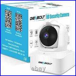 Auto Tracking 3MP WiFi IP Home Security Camera, GENBOLT Wireless Indoor Dog Ba