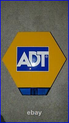 BRAND NEW ADT External Dummy Alarm Box Solar & Battery Powered with fittings