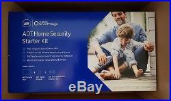 BRAND NEW! Samsung SmartThings ADT Home Security Starter Kit White