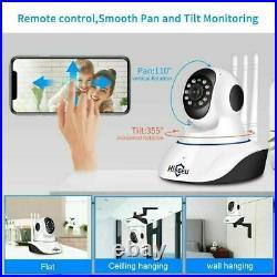 Baby Monitor Security Hiseeu Home Wireless 1080P 3MP Wifi IP Camera Audio Record