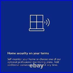 Blue by ADT Starter System Easy, DIY Setup Optional 24/7 Pro Monitor BASE