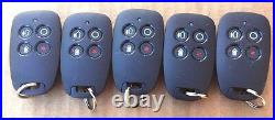 Brand New 5 Honeywell K5250-8 wireless remote Keyfob 5834-4, New Design