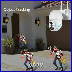 Camera 1080P Wifi KERUI IP Home Security Outdoor PTZ Surveillance Cameras 2PCS